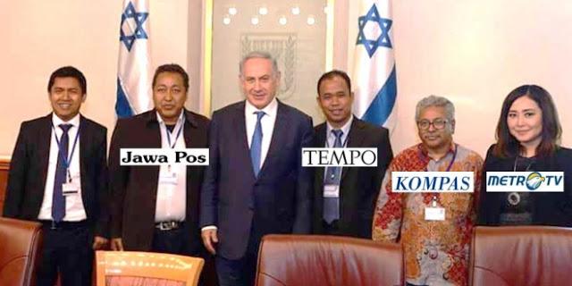 Wartawan Indonesia bertemu Netanyahu