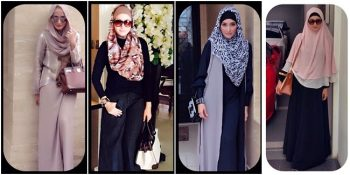 Gaya muslimah modis