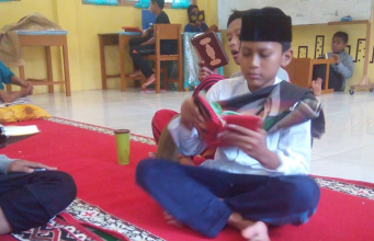 Siswa SMPIT Teuku Umar Antusias Ikuti Mukhayam Quran.
