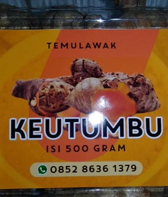 Sejuta Khasiat KEUTUMBU ( Temulawak) Paya Bakong Aceh Utara